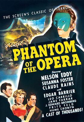 Phantom of the Opera (1943 film) Phantom of the Opera 1943 Trailer YouTube