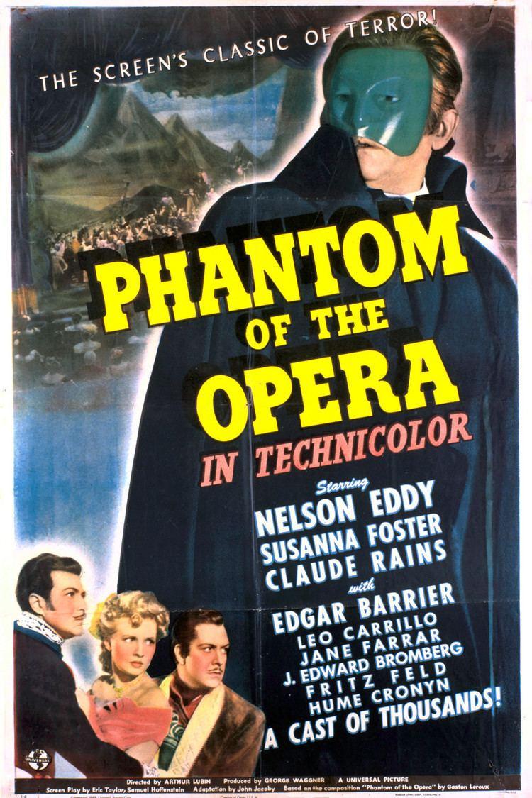 Phantom of the Opera (1943 film) wwwgstaticcomtvthumbmovieposters2135p2135p