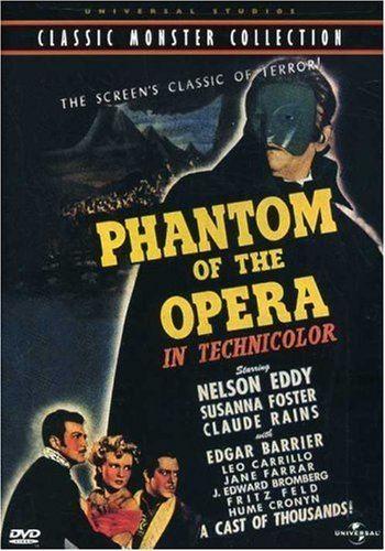 Phantom of the Opera (1943 film) Amazoncom Phantom of the Opera Universal Studios Classic Monster