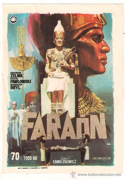 Pharaoh (film) A Common Reader Faraon Pharaoh Film Poland 1966
