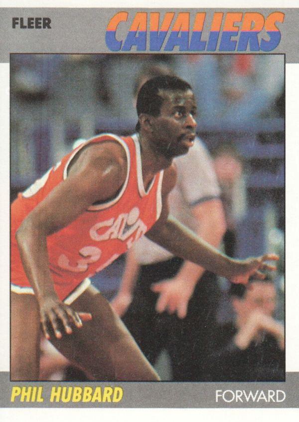 Phil Hubbard Cleveland Cavaliers Flashback Phil Hubbard King James