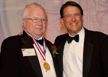 Phil Kirk 67 Alumnus Phil Kirk Receives NCs Highest Civilian Honor