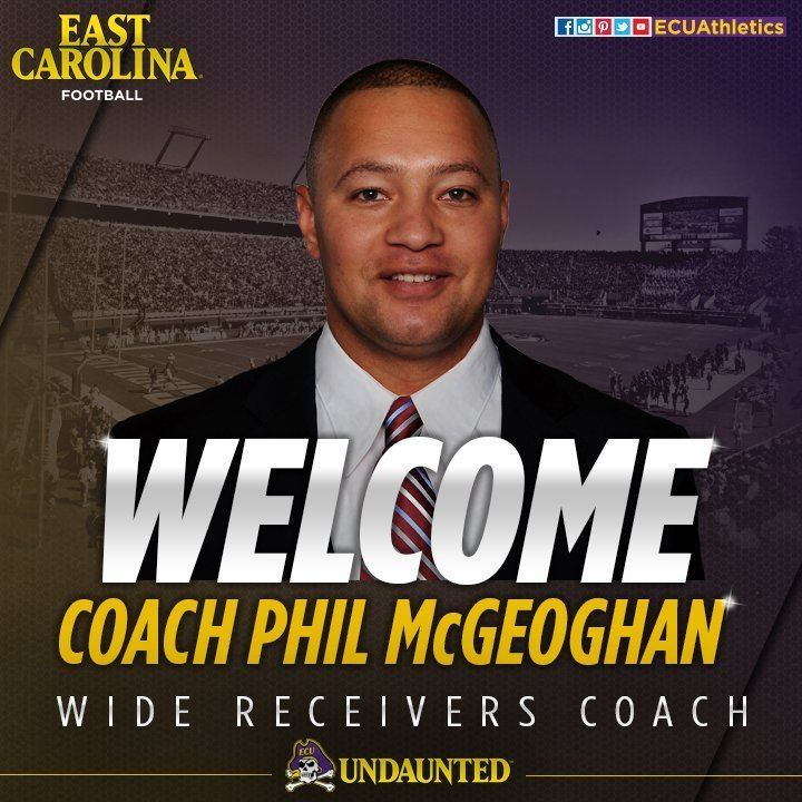 Phil McGeoghan ECUAthletics on Twitter ECUAthletics welcomes Phil McGeoghan