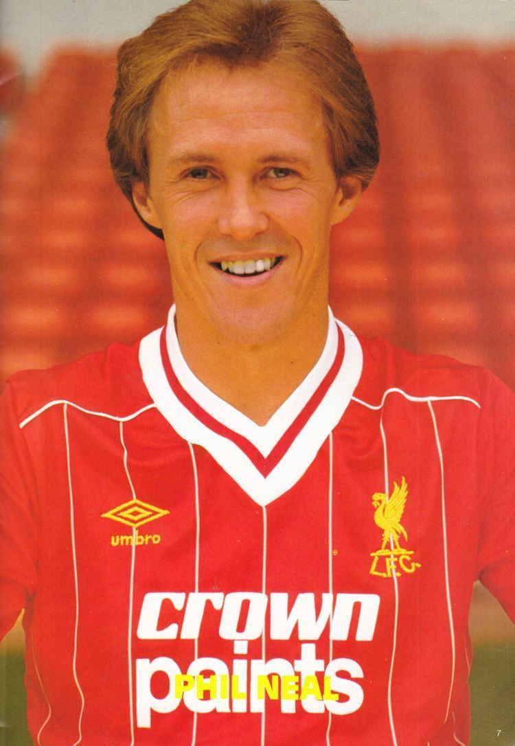 Phil Neal Liverpool career stats for Phil Neal LFChistory Stats