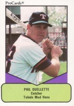 Phil Ouellette Phil Ouellette Baseball Statistics 19811990