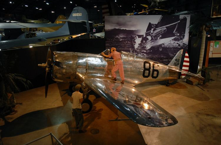 Phil Rasmussen Lt Phillip Rasmussen and His P36A National Museum of the US Air