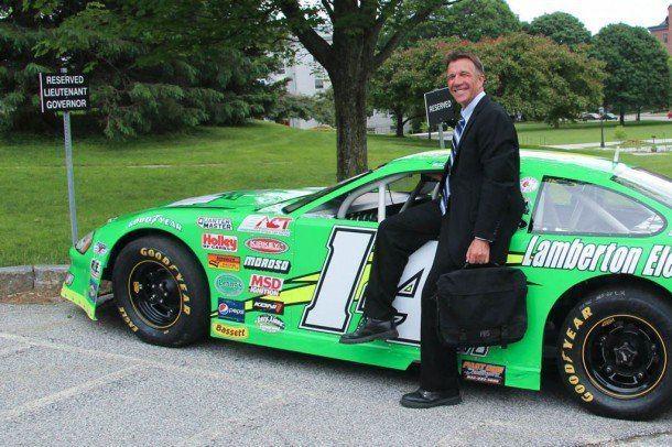 Phil Scott (politician) In Profile Race car champ Phil Scott prefers lowgear political