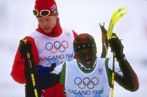 Philip Boit Kenya39s oneman team a flagbearer for Africans Sport