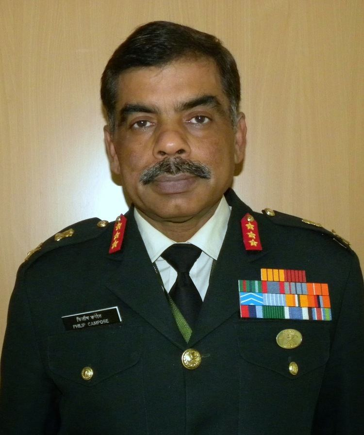 Philip Campose Chindits Lt Gen Philip Campose Appointed Vice Chief Of