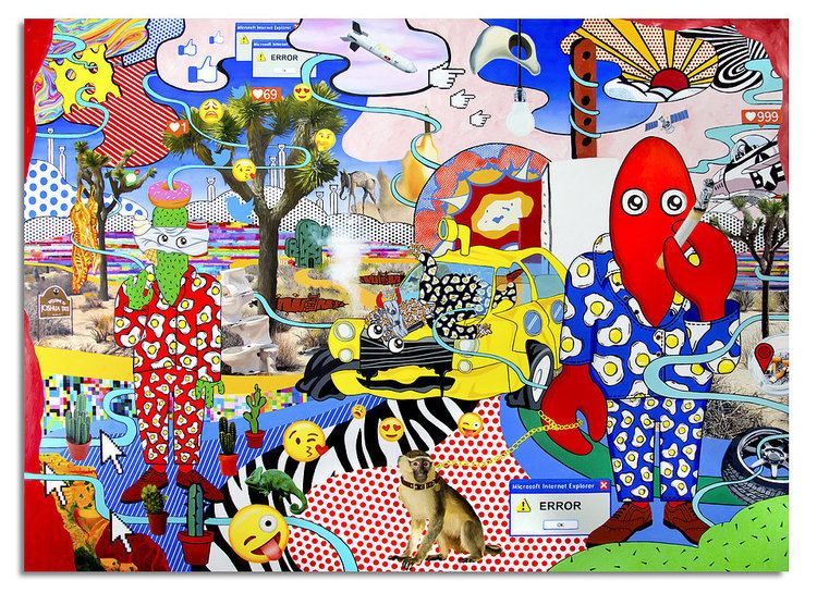 Philip Colbert Philip Colbert Neo Pop Surrealist