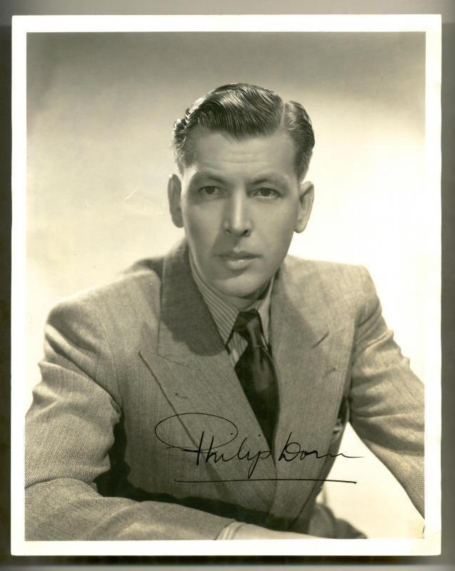 Philip Dorn Clickautographs autographs Philip Dorn