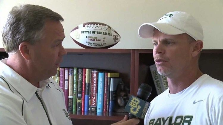 Philip Montgomery Baylor Football OneonOne with Coach Montgomery YouTube