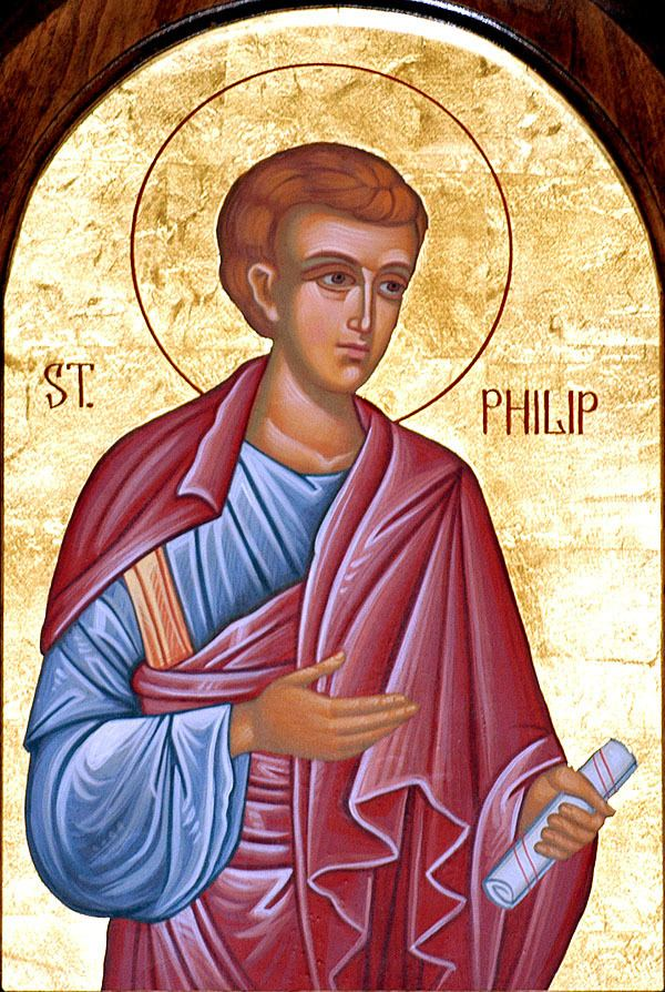 Philip the Apostle Lives of all saints commemorated on October 11 Orthodox