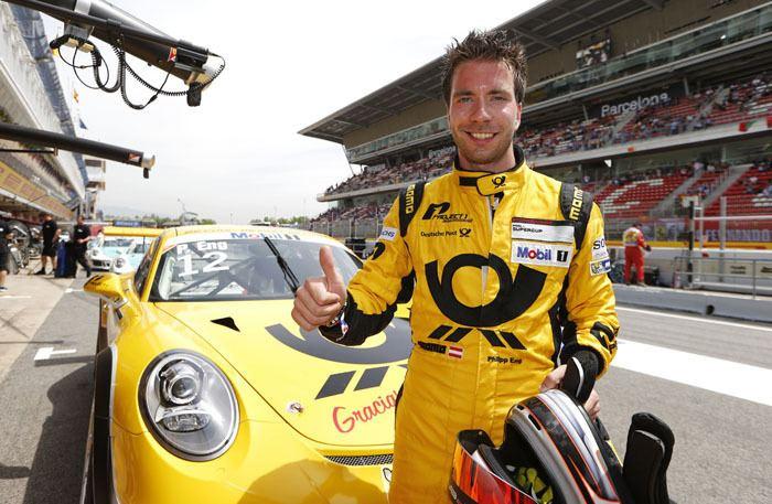 Philipp Eng Porsche Mobil 1 Supercup Eng enger SupercupQualifying