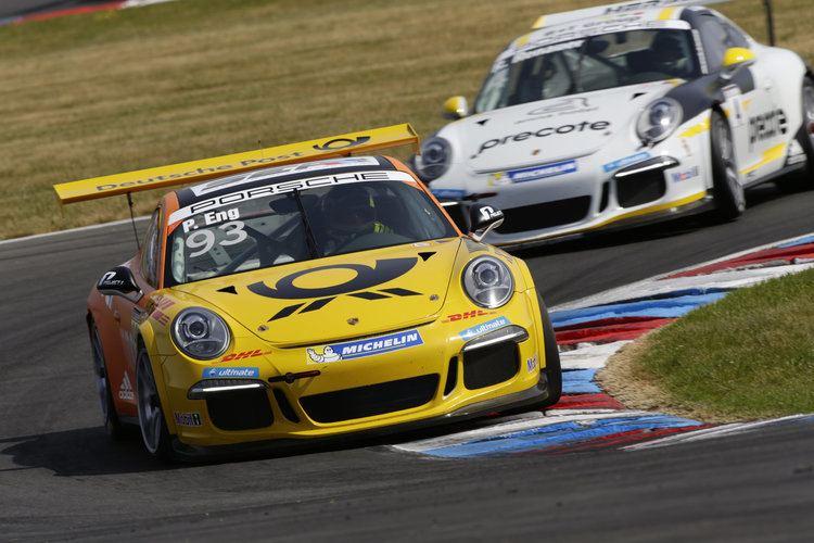 Philipp Eng Two wins for Philipp Eng at Porsche Carrera Cup Deutschland