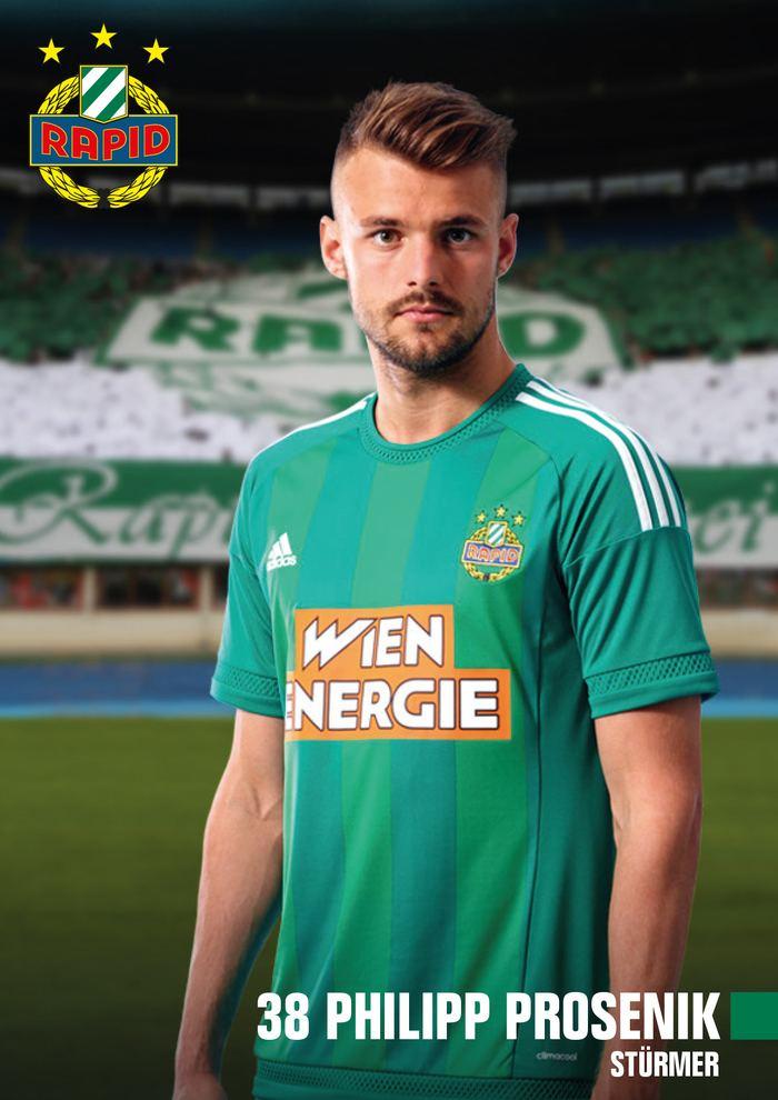 Philipp Prosenik SK Rapid Spieler