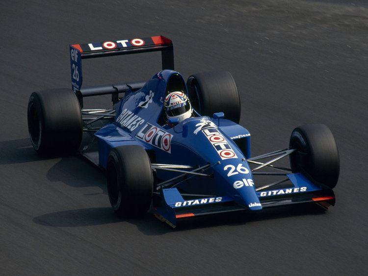 Philippe Alliot Philippe Alliot 1990 by F1history on DeviantArt