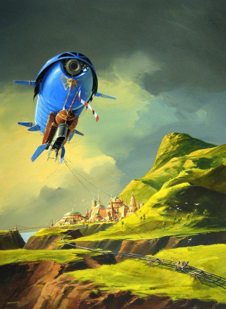 Philippe Bouchet (illustrator) concept ships MONTHLY HEADER 64 Philippe Bouchet
