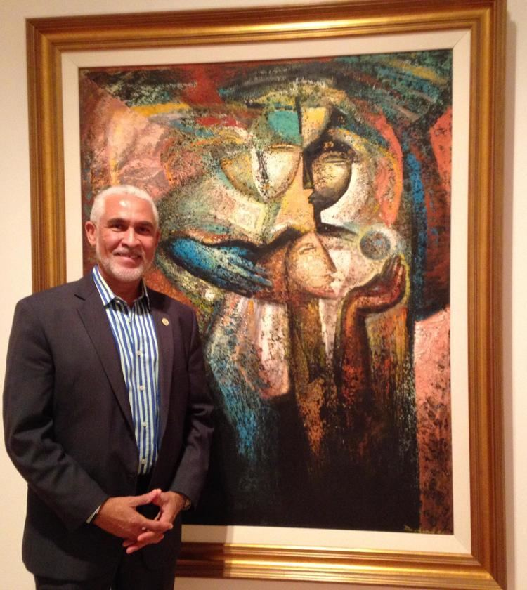 Philippe Dodard Large Paintings And Metal Sculptures Are One Artist39s