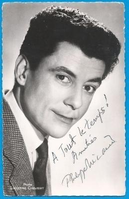 Philippe Nicaud Philippe NICAUD Autograph Signed photo