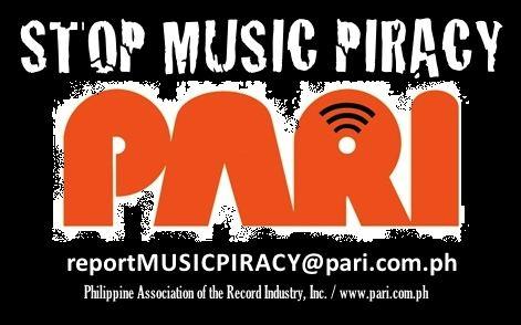 Philippine Association of the Record Industry wwwparicomphimagesPARI20STOP20Music20Pirac