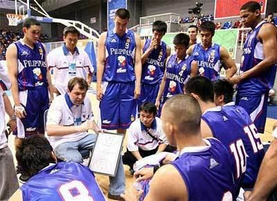 Philippines men's national basketball team A note on the Smart Gilas RP National Basketball Team Fire Quinito