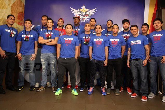 Philippines men's national basketball team Gilas gets a big boost from fans SPINph