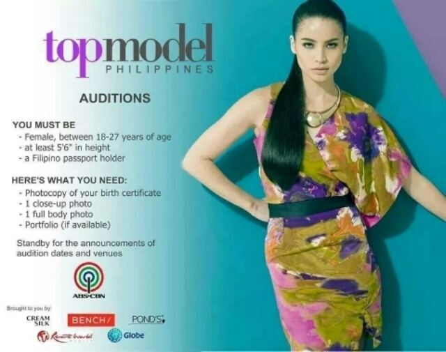 Philippines' Next Top Model Top Model Philippines on ABSCBN normannormancom