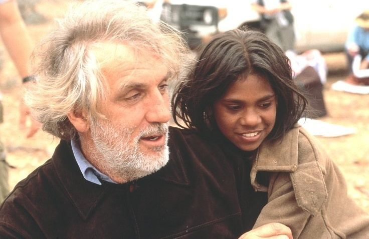 Phillip Noyce Australian film director Phillip Noyce with one of the girls from