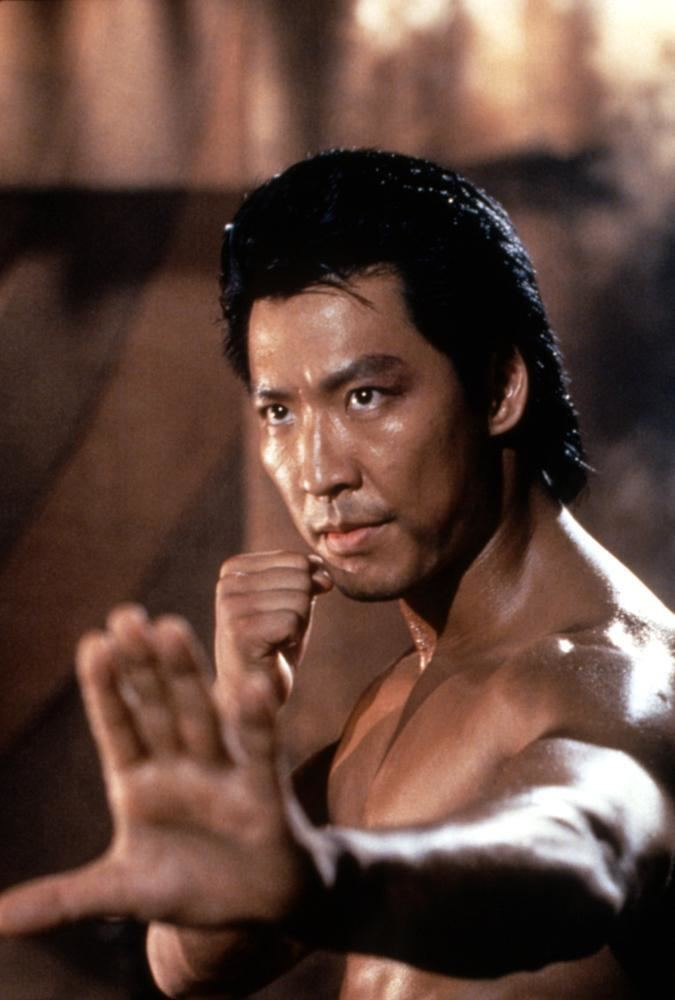 Phillip Rhee showing a martial arts pose