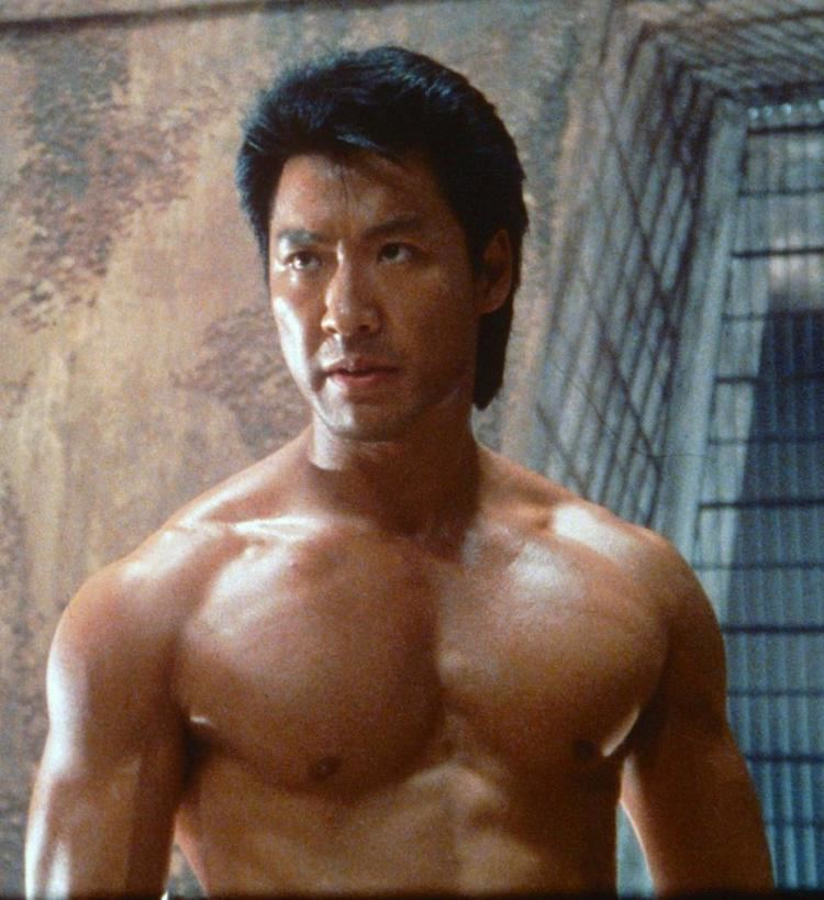 Phillip Rhee without a shirt