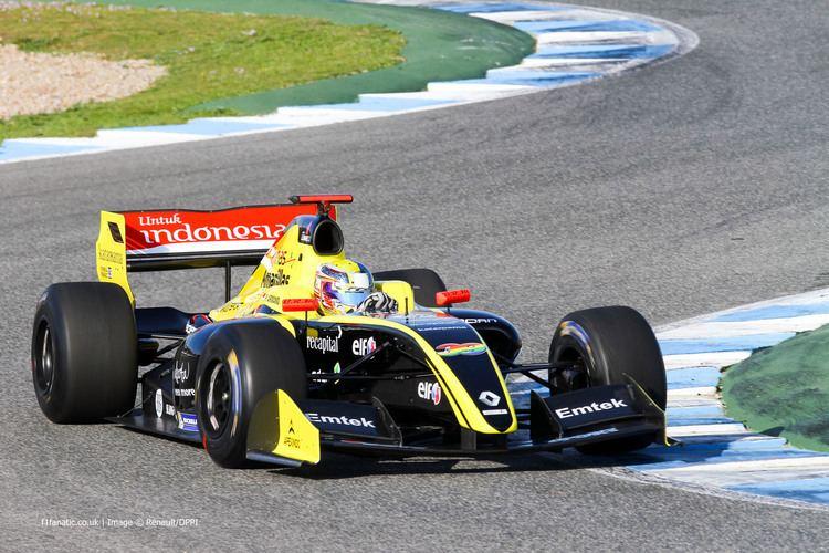 Philo Paz Armand Philo Paz Patrick Armand Formula Renault 35 Pons Jerez