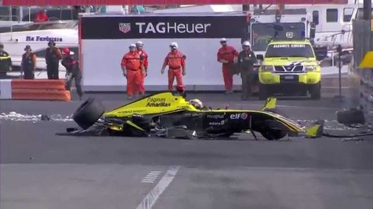 Philo Paz Armand WSBR 2015 Monaco Qualifying Philo Paz Armand39s crash