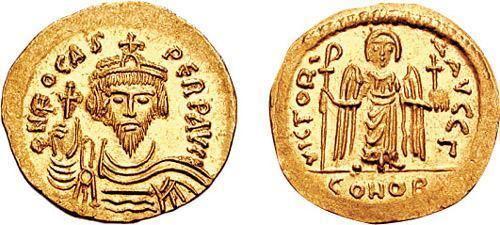 Phocas Phocas Byzantine Coinage WildWindscom