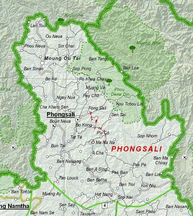 Phongsaly Province in the past, History of Phongsaly Province