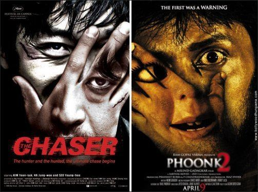 Phoonk 2 copied The Chaser poster Fight Club
