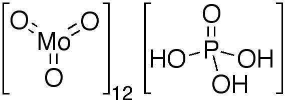 Phosphomolybdic acid Acide phosphomolybdique Wikipdia