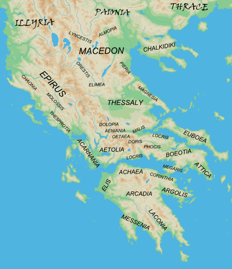Phthiotis in the past, History of Phthiotis