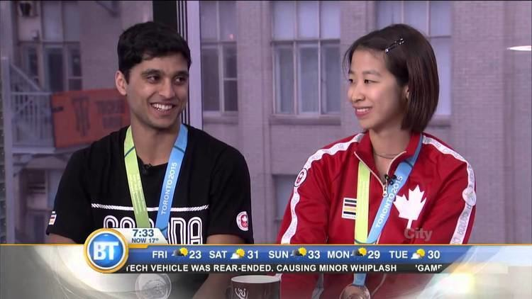 Phyllis Chan Badminton athletes Andrew DeSouza and Phyllis Chan on Pan Am Games
