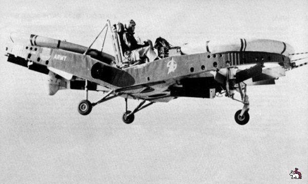 Piasecki VZ-8 Airgeep Weird amp Wonderful Aircraft Piasecki VZ8 Airgeep