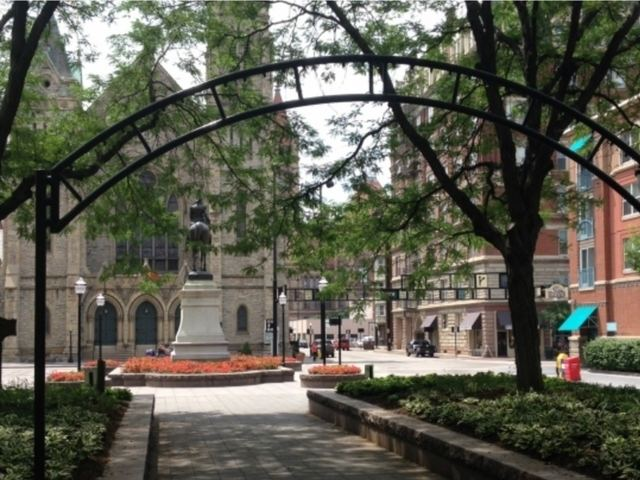 Piatt Park Who Knew Cincinnati39s oldest park was supposed to be a market but