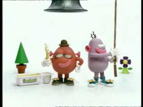 Pib and Pog Dairylea Dunkers Bell 1999 UK YouTube