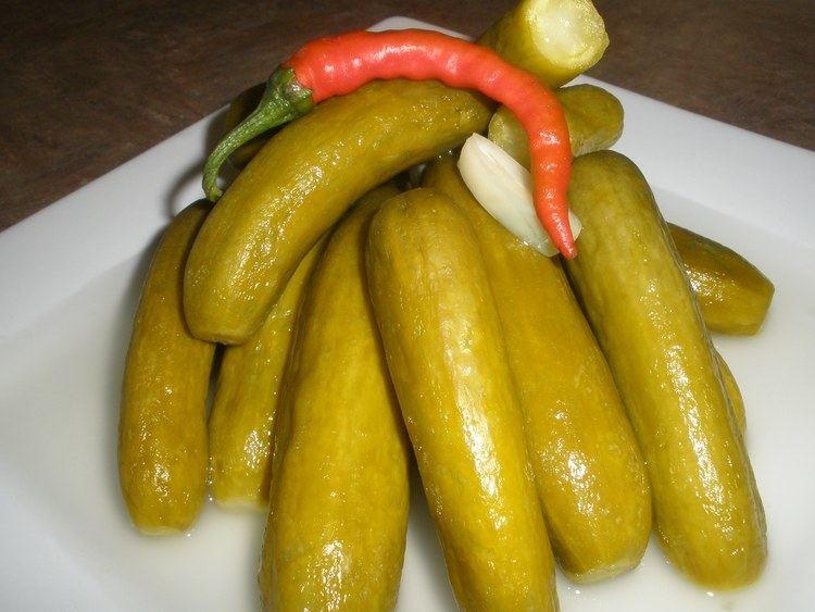Pickled cucumber Pickled Cucumber Recipe YouTube