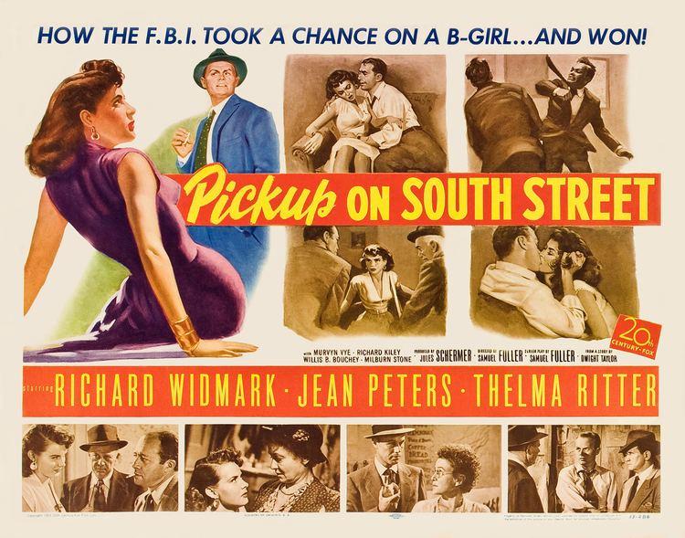Pickup on South Street WR056 A Pickpocket vs the Reds in Pickup on South Street 1953