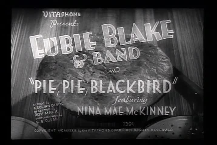 Pie, Pie Blackbird wwwcriticalcommonsorgMemberssammondnclipspie