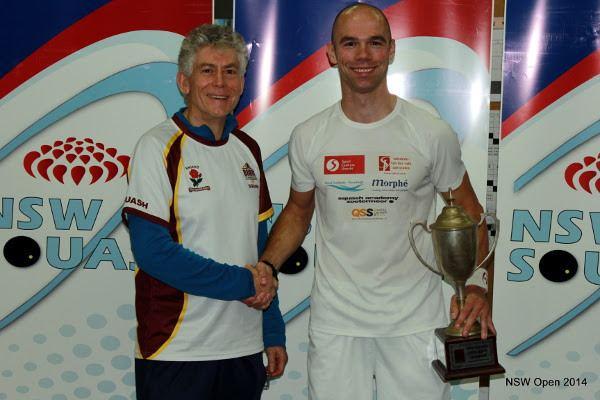 Piedro Schweertman Squash Mad Piedro powers to NSW prize