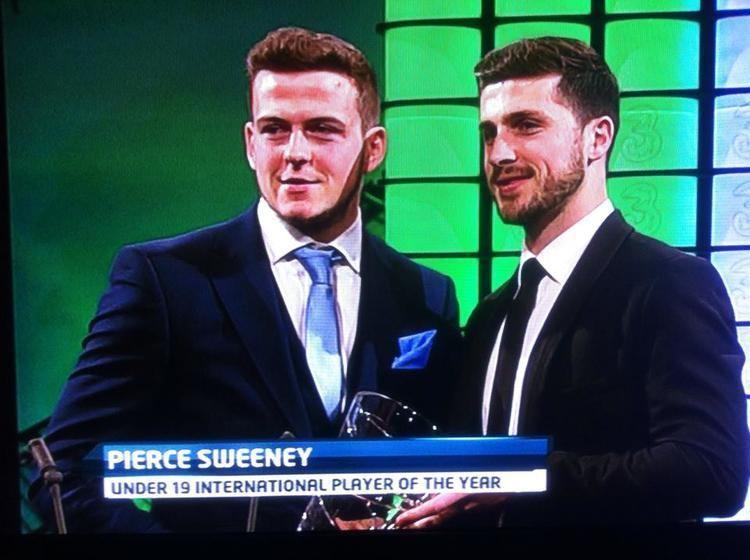 Pierce Sweeney Pierce Sweeney Interview Ireland U19 Player Of The Year