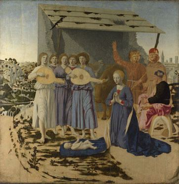 Piero della Francesca Piero della Francesca The Nativity NG908 The