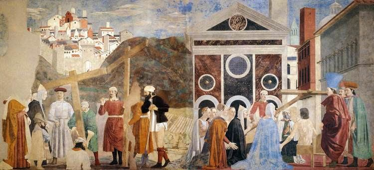 Piero della Francesca 7 Finding and Recognition of the True Cross by PIERO