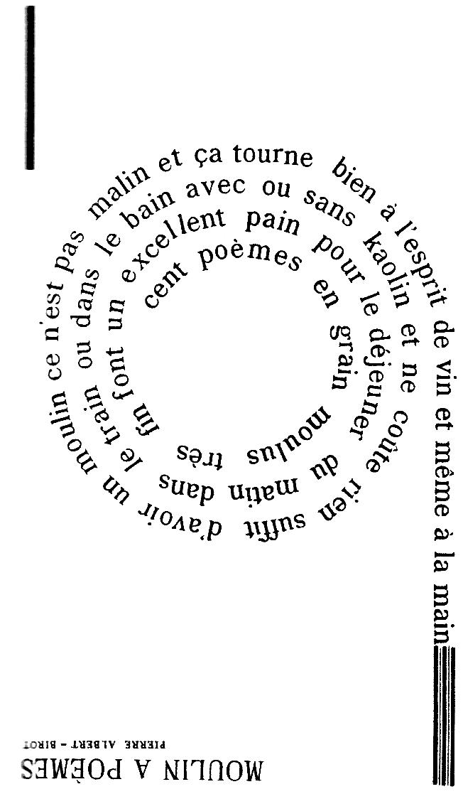 Pierre Albert-Birot Pierre AlbertBirot le pote qui avait tout expriment